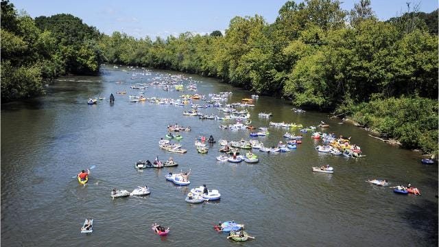 A reader asks if the legend of the French Broad being one of the three oldest rivers in the world is true, and why it flows north to south.