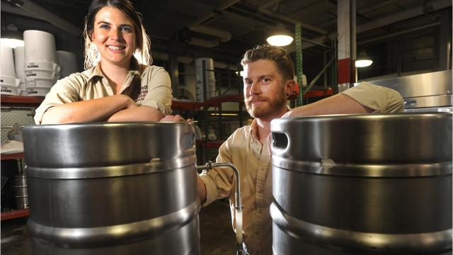 A reader asks if students at A-B Tech's Craft Beverage Institute of the Southeast can drink the beer and spirits they produce in class.