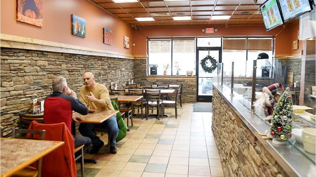 Food reviewer Matthew DeRobertis visited Mr. Kabab in East Asheville.