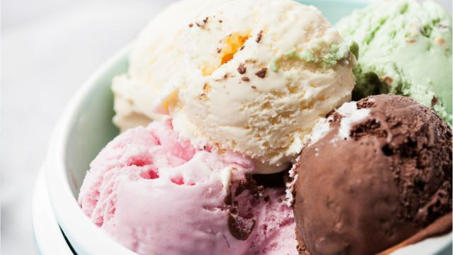 Video: Five things people put on ice cream