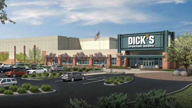 Indiana sporting largest goods dicks goods