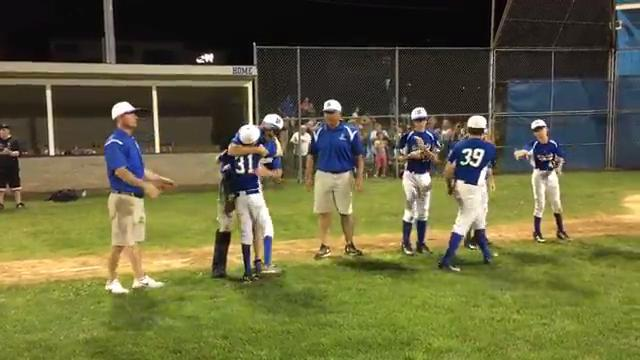 Video: Homers fuel Horseheads to section title
