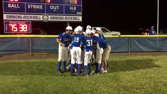 Video: Horseheads celebrates with manager