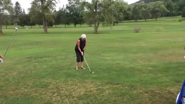 Video: Swing in fine form