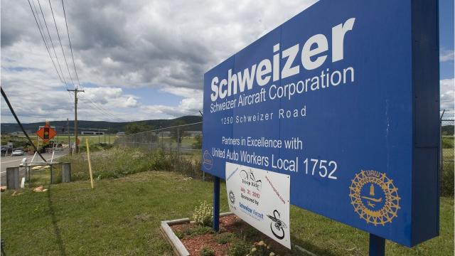 A local manufacturing business wants to buy former aircraft plant from the Chemung County Industrial Development Agency.