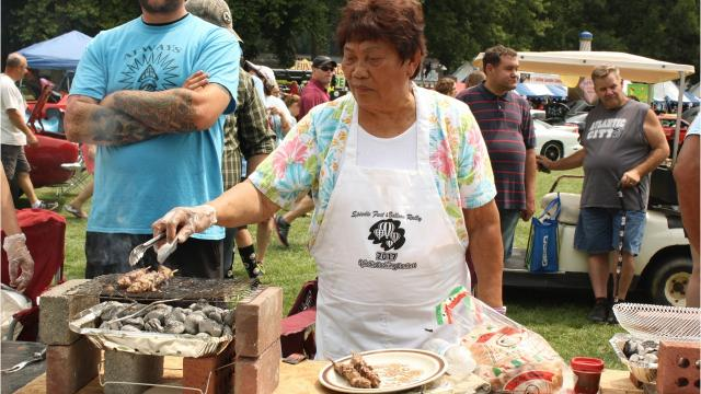 VIDEO: Watch 82-year-old win Spiedie Cooking Contest