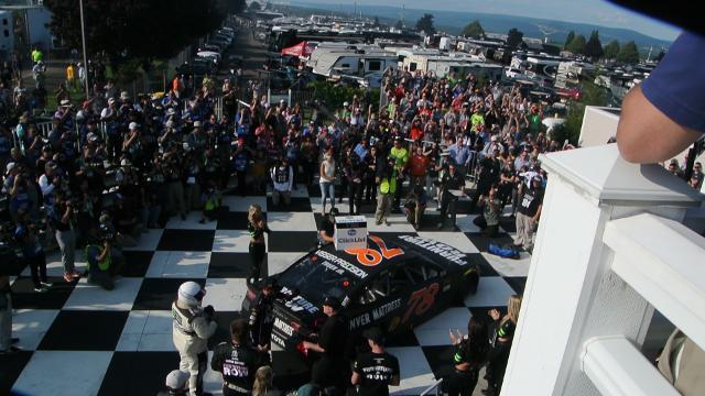 VIDEO: Martin Truex Jr. enters victory lane at Watkins Glen