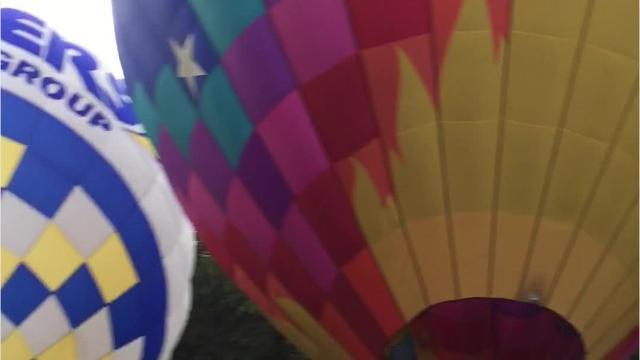 VIDEO: Watch the Spiedie Fest Balloons take off