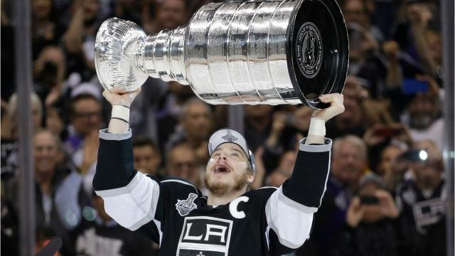 A look at the career of Ithaca native Dustin Brown, who has captained the Los Angeles Kings to two Stanley Cups.