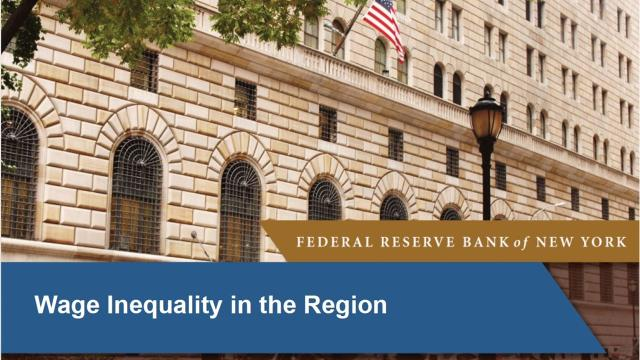 VIDEO: NY Federal Reserve Bank Regional Analysis