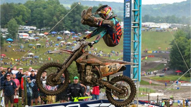Marvin Musquin and Jeremy Martin won titles Saturday at Unadilla MX in New Berlin, which hosted the 10th stop of the Lucas Oil Pro Motocross Championship tour. Here are a few scenes from the 2017 Unadilla National.