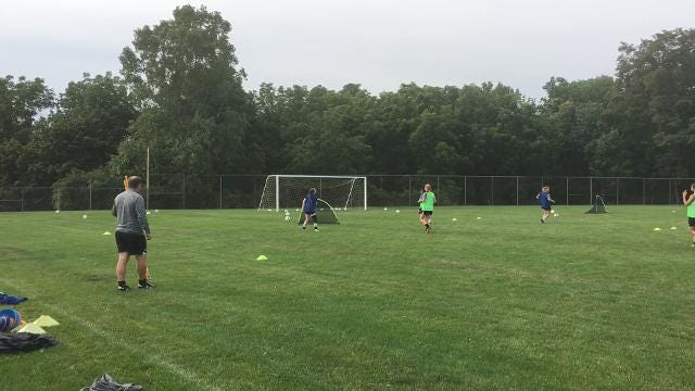 Video: Elmira girls soccer practice starts
