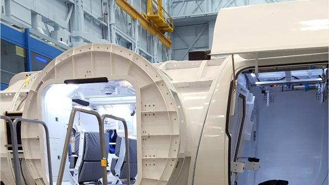 """Elmira native Mark Zito is working for NASA on design and upholstery for the interior of a """"habitable airlock"""" for the Orion spacecraft."""