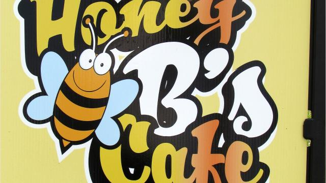 Honey B's Cafe, located in the Gerould's Pharmacy building, offers home-cooked meals.