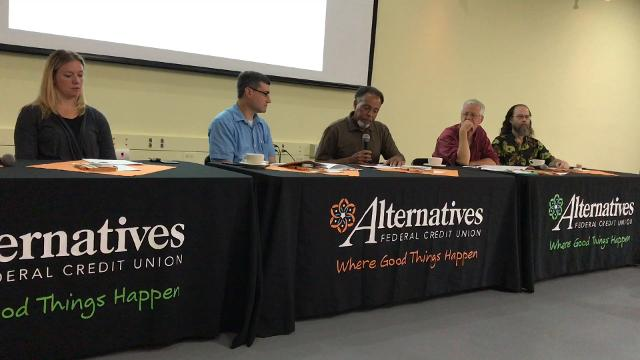 Karl Graham, the director of community relations and development at Alternatives Federal Credit Union, discusses the calculation behind the 2017 living wage.
