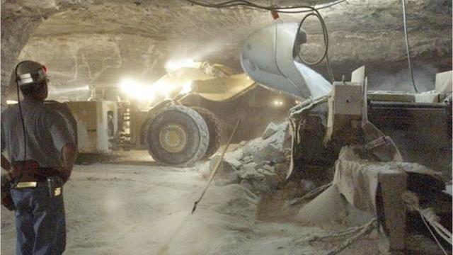 Cargill has permission from the New York State Department of Environmental Conservation to construct mine shaft 4 at Cayuga Salt Mine.
