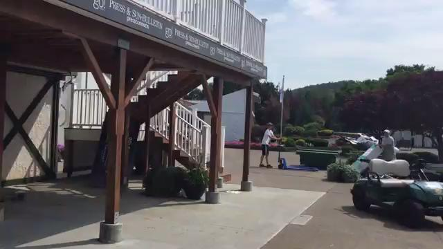 Video: Day after Dick's Sporting Goods Open