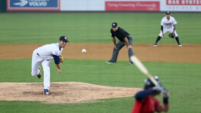 VIDEO: Matt Harvey pitches for the Rumble Ponies