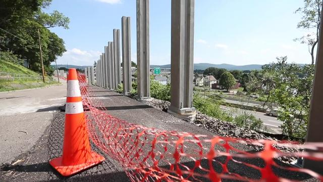 Prospect Mountain construction is projected to be completed by the end of 2020.