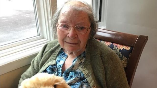 Irmgard Muller died July 14, 2017.