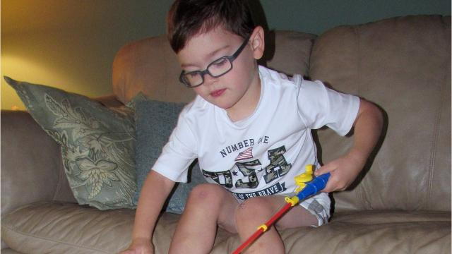 Video: Elmira boy lives with serious genetic disorder