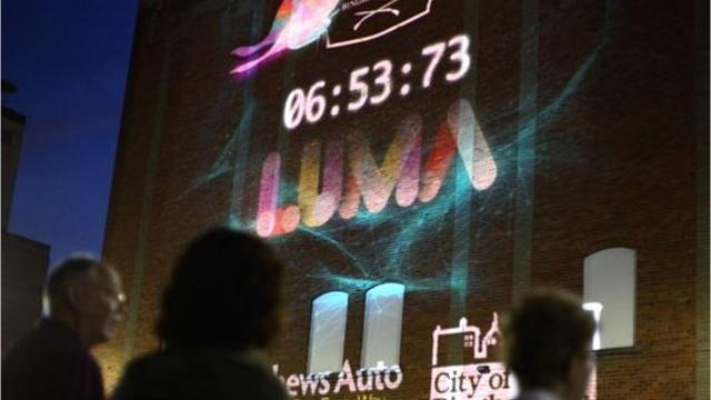 How LUMA\'s lights in Binghamton will tell a worldwide story
