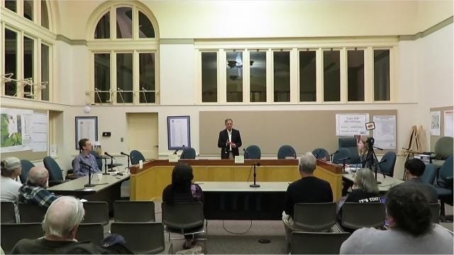 After candidate Reed Steberger suddenly announced his resignation from his campaign for Tompkins County Legislature following sexual assault allegations, his debate with District 4 Incumbent Rich John was canceled.