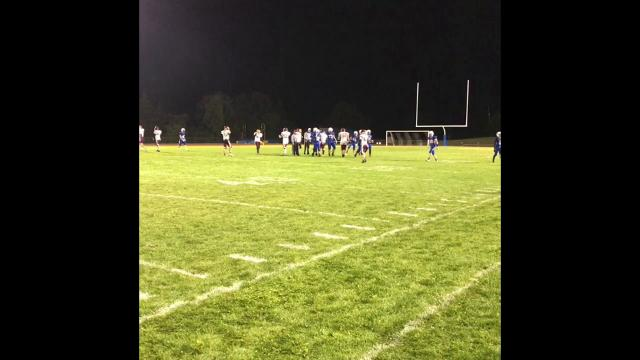 Lansing defeated Whitney Point, 47-18, on Friday, Sept. 8 at Lansing.