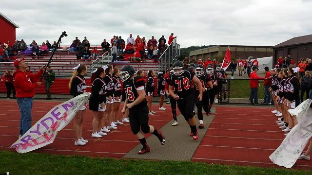 Video: NV football team hits the field