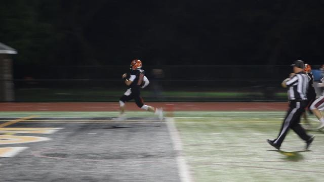 Video: Tigers QB off to the races