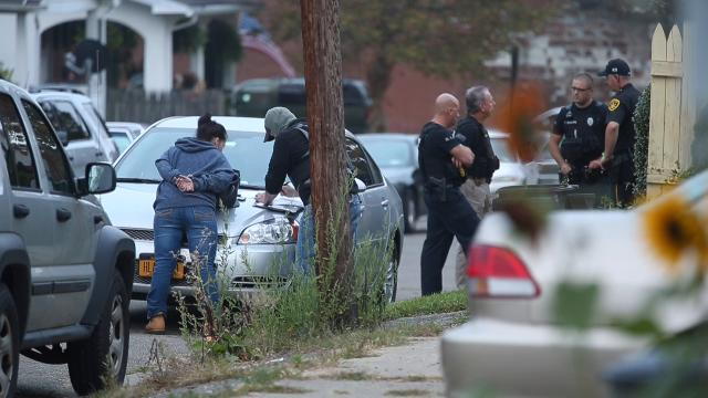 Police served a search warrant early Wednesday at 11 Highland Ave., Endwell as part of a lengthy drug investigation.