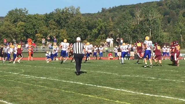 Touchdown Whitney Point: Andy Davis