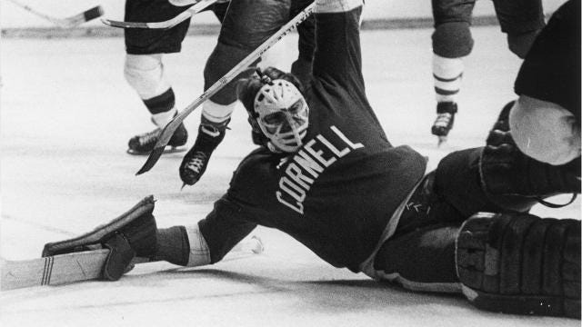 'Forever Faithful: Celebrating the Greatest Moments of Cornell Hockey' will be released on Oct. 15. The book, written by Jim Roberts with Arthur Mintz, celebrates the history of Cornell hockey and looks at 24 of the top men's and women's games in the past 50 years.