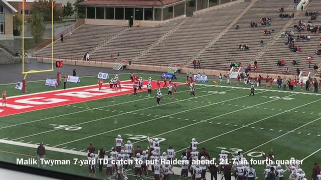 Colgate University defeated Cornell University, 21-7, on Saturday at Schoellkopf Field.