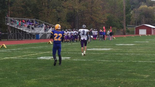 HS Football Video: Oneonta scores against Dryden