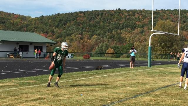 Moravia defeated host Newfield, 44-6, on Saturday.