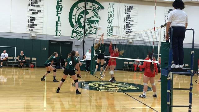 Waverly defeated Newfield, 3-1, in girls volleyball on Thursday, Oct. 12.