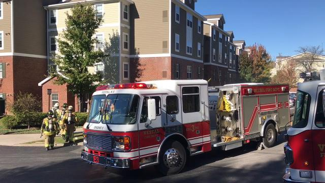 Video: Fire at University Plaza Apartments