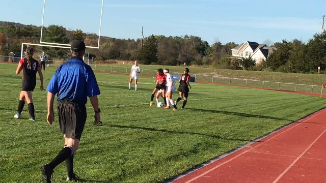 Lansing defeated Groton, 2-1, in the quarterfinals of the Section 4 Class C tournament on Friday.