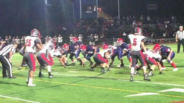 HS Football Video: Valley at Forks