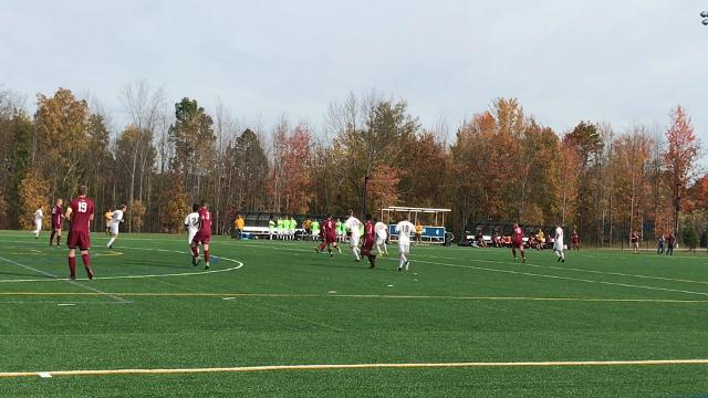 Lansing defeated Odessa-Montour, 7-0, on Saturday in a Section 4 Class C quarterfinal at Ithaca College.