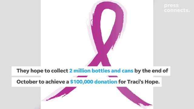 Taylor Garbage is joining a community member to takea stand against breast cancer.