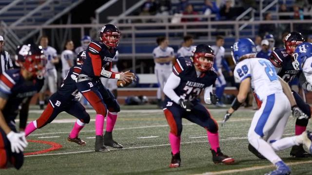 Video: Binghamton wins Section 4 Class AA football semi-final over Horseheads