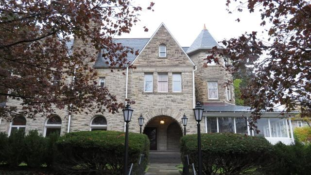 The Ithaca College Board of Trustees decided to put the president's mansion at 2 Fountain Place up for sale in October.
