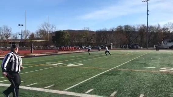HS Football Video: Newark Valley kickoff