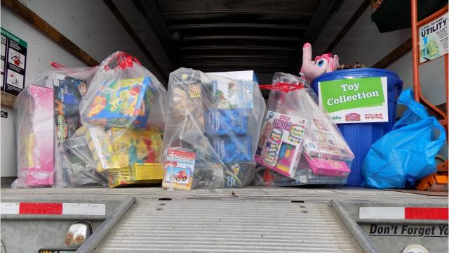 A toy drive will be held in Vestal on Black Friday.