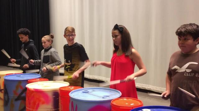 Footage from an October 10 rehearsal of Smash at East Middle School.