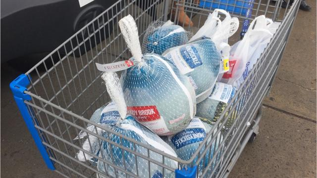 Catholic Charities Thanks-For-Giving food drive is held annually.