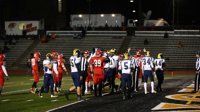 Video: Tioga football falls to Maple Grove in state semifinal