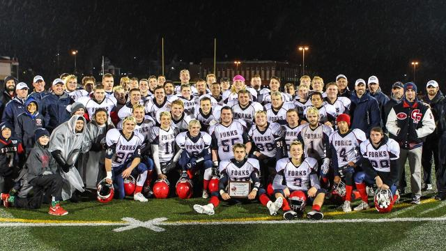 VIDEO: Highlights from CF's convincing Class B state football semifinal win